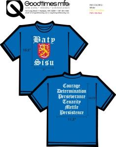 Baty Sisu T-Shirts